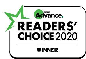 Barrie Winner Readers Choice 2020