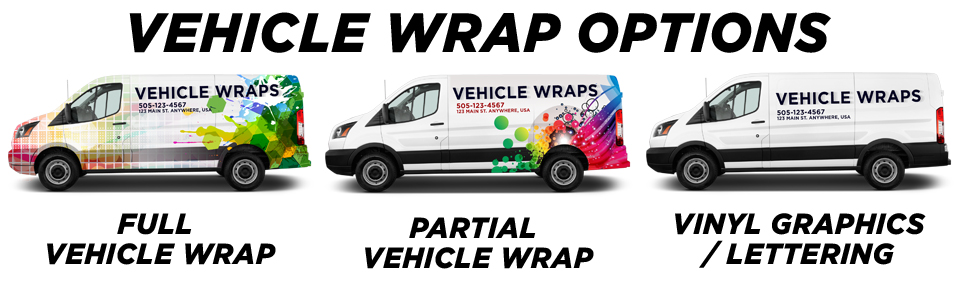 Innisfil Vehicle Wraps vehicle wrap options