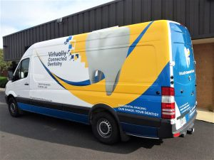 custom vehicle van wrap graphics