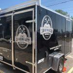 custom vinyl trailer graphics for commercial vehicle