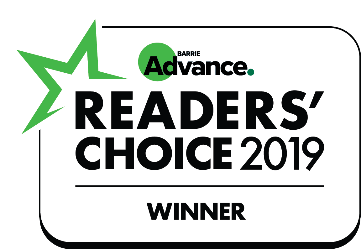 Barrie Winner Readers Choice 2019