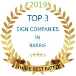 Best Sign companies in Barrie